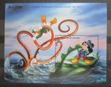 Poštovní známka Antigua 1996 Disney postavičky Mi# Block 347
