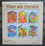 Poštovní známky Antigua 1998 Disney, Medvídek Pú Mi# 2691-96