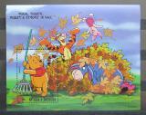 Poštovní známka Antigua 1998 Disney, Medvídek Pú Mi# Block 392
