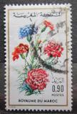 Poštovní známka Maroko 1975 Hvozdík zahradní Mi# 796