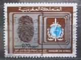 Poštovní známka Maroko 1973 INTERPOL, 50. výročí Mi# 753