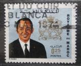 Poštovní známka Maroko 1973 Král Hassan II. Mi# 727