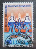 Poštovní známka Tunisko 1990 Voda je život Mi# 1215