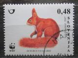 Poštovní známka Slovinsko 2007 Veverka obecná, WWF Mi# 636