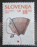 Poštovní známka Slovinsko 1999 Harmonika Mi# 280