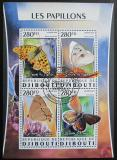 Poštovní známky Džibutsko 2016 Motýli Mi# 1034-37 Kat 12€