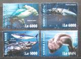 Poštovní známky Sierra Leone 2016 Žraloci Mi# 7028-31 Kat 11€