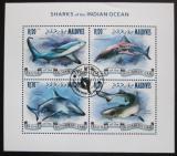 Poštovní známky Maledivy 2014 Žraloci Mi# 5188-91 Kat 10€