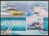 Poštovní známka Togo 2010 Vodní sporty Mi# Block 543 Kat 12€