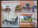 Poštovní známka Togo 2010 Dostavníky Mi# Block 550 Kat 12€