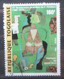 Poštovní známka Togo 1988 Umění, Picasso Mi# 2055