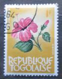 Poštovní známka Togo 1964 Ibišek Mi# 386