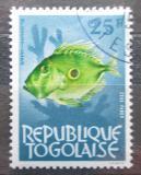 Poštovní známka Togo 1964 Pilobřich ostnitý Mi# 396