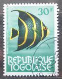 Poštovní známka Togo 1964 Pomacanthus arcuatus Mi# 397