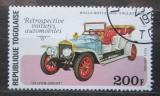 Poštovní známka Togo 1977 Rolls-Royce Mi# 1226