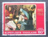 Poštovní známka Togo 1968 Umění, Rembrandt Mi# 659
