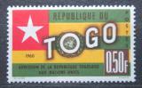Poštovní známka Togo 1961 Státní vlajka Mi# 299