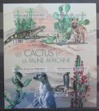 Poštovní známky Burundi 2012 Kaktusy neperf. Mi# 2748-51 B
