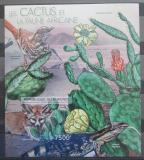 Poštovní známka Burundi 2012 Kaktusy neperf. Mi# Block 274 B