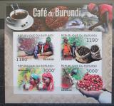 Poštovní známky Burundi 2012 Pěstování kávy neperf. Mi# 2645-48 B