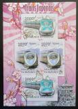 Poštovní známky Burundi 2012 Japonské lokomotivy neperf. Mi# 2453,2456 Block