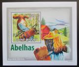 Poštovní známka Guinea-Bissau 2009 Včely DELUXE Mi# 4134 Block