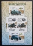Poštovní známky Burundi 2012 Opel, 150. výročí neperf. Mi# 2413,2414 B