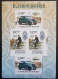 Poštovní známky Burundi 2012 Opel, 150. výročí neperf. Mi# 2412,2414 B