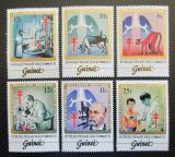 Poštovní známky Guinea 1983 Robert Koch, TBC Mi# 947-51,953 Kat 19€