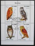 Poštovní známky Svatý Tomáš 2011 Sovy Mi# 4917-20 Kat 13€