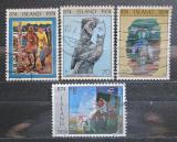 Poštovní známky Island 1974 Osídlení ostrova Mi# 485-88