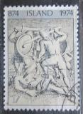 Poštovní známka Island 1974 Osídlení ostrova Mi# 491