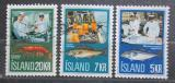 Poštovní známky Island 1971 Rybářský průmysl Mi# 457-59