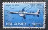 Poštovní známka Island 1969 Canadair 400 Mi# 433