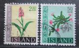 Poštovní známky Island 1968 Květiny Mi# 415-16