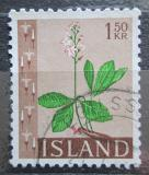 Poštovní známka Island 1964 Vachta trojlistá Mi# 383