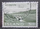 Poštovní známka Island 1963 Akureyri Mi# 372