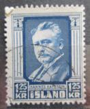 Poštovní známka Island 1954 Hannes Hafstein Mi# 293
