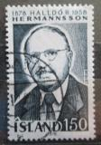 Poštovní známka Island 1978 Halldor Hermannsson Mi# 538