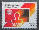 Poštovní známka Island 1976 Federace práce Mi# 519