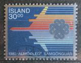 Poštovní známka Island 1983 Světový rok komunikace Mi# 605