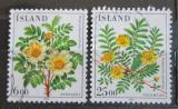 Poštovní známky Island 1984 Květiny Mi# 612-13
