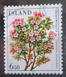 Poštovní známka Island 1984 Skalenka poléhavá Mi# 619