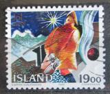 Poštovní známka Island 1988 Vánoce, grafika Mi# 695