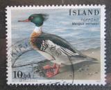 Poštovní známka Island 1996 Morčák prostřední Mi# 862
