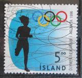 Poštovní známka Island 1996 LOH Atlanta, běh Mi# 850