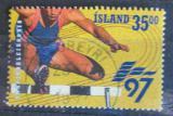 Poštovní známka Island 1997 Běh přes překážky Mi# 870