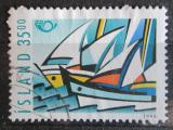 Poštovní známka Island 1998 Plachetnice Mi# 884
