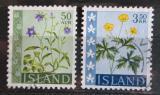 Poštovní známky Island 1962 Květiny Mi# 359-60