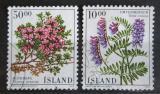 Poštovní známky Island 1988 Květiny Mi# 689-90